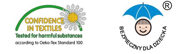 Certyfikatem OEKO-TEX® Standard 100